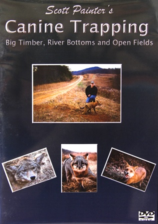 "Scott Painter's ""Canine Trapping"" DVD 00082714"